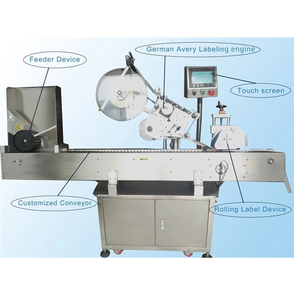 Small Bottle Labeling Machine