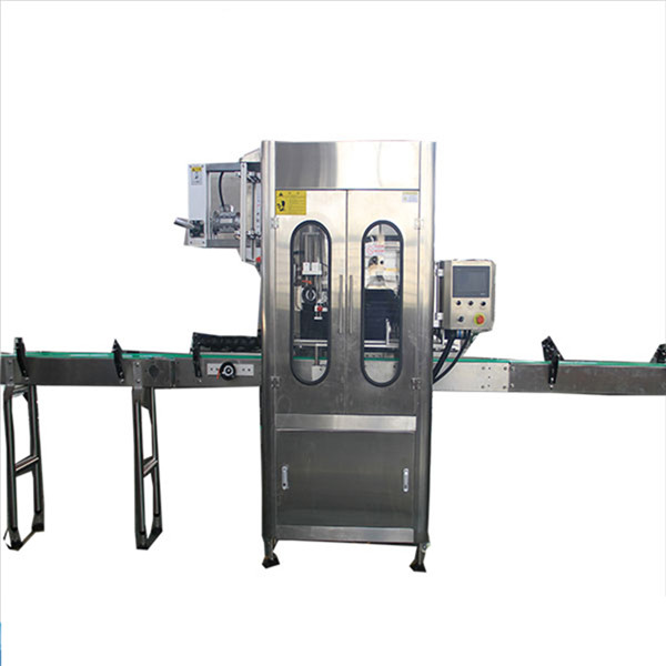 Small Capacity Shrink Sleeve Label Applicator Round Bottle Shrink Labeling Machine