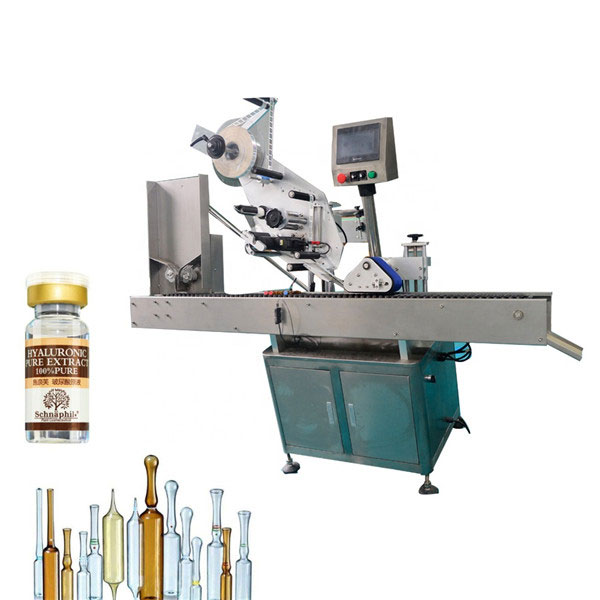 Small Round Bottle Vial Sticker Labelling Machine For 10ml Bottle
