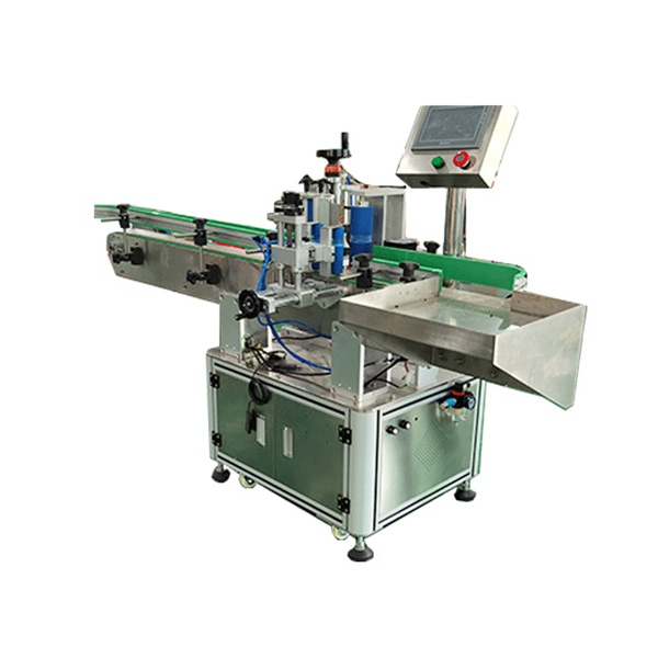 Square And Round Bottles Automated Labeling Machine