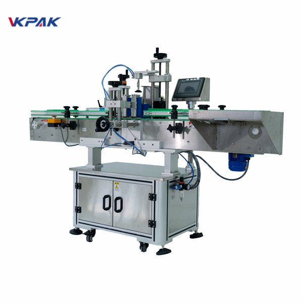Stainless Steel 350ml Cylinder Label Applicator Machine With Date Printer