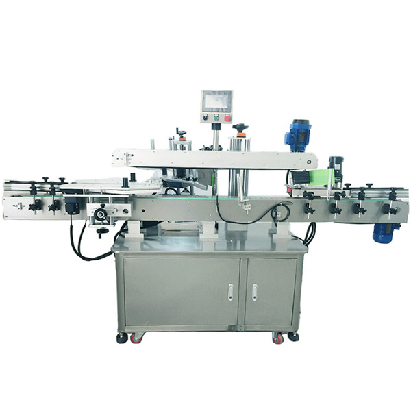Stainless Steel Automatic Sticker Labelling Machine For Double Sided Labeling