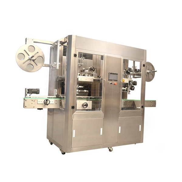 Stainless Steel Shrink Sleeve Label Machine