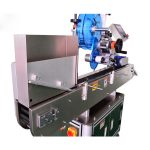 Stainless Steel Vial Sticker Labeling Machine For Ampoules / Oral Liquid Bottle