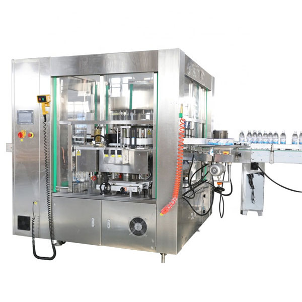 Three Faces Location Automatic Sticker Labeling Machine Rotary System Machinery