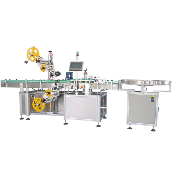 Three Label Sided Stations System Sticker Labeling Machine