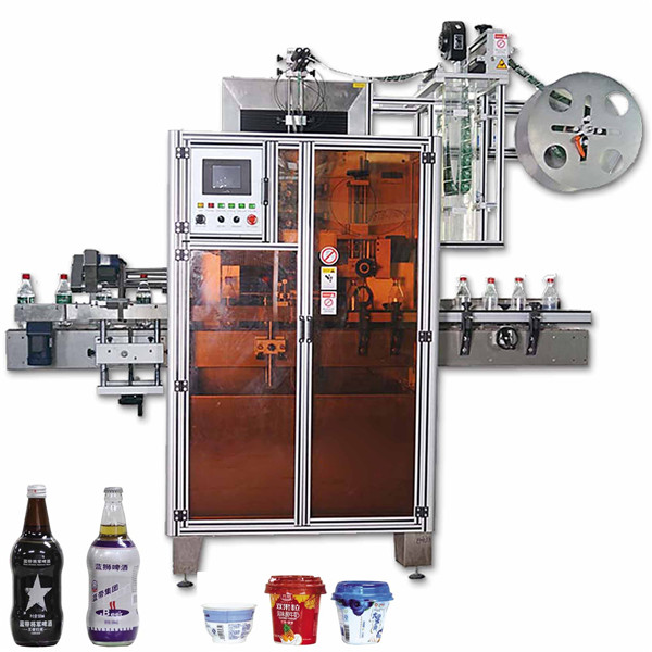 Tin Can Shrink Sleeve Sticker Labelling Machines