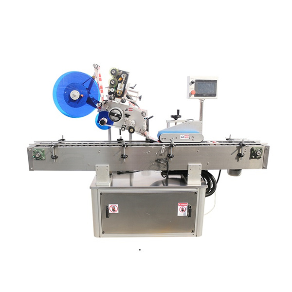Top And Double Side Labeling Machine