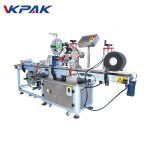 6500W Self Adhesive Labeling Machine Top And Wrap Around Label Applicator