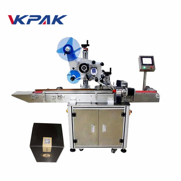 Top Labeling Machine For Caps, Boxes, Magazines, Carton