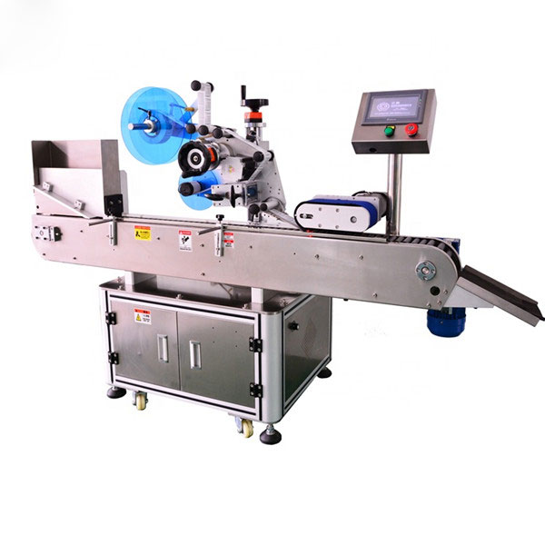 Touch Screen Vial Sticker Labeling Machine With Collection Worktable