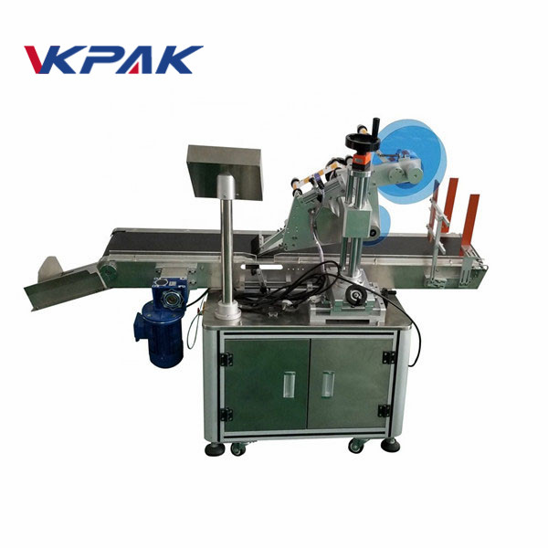 Up And Under Sticker Adhesive Labeling Machine