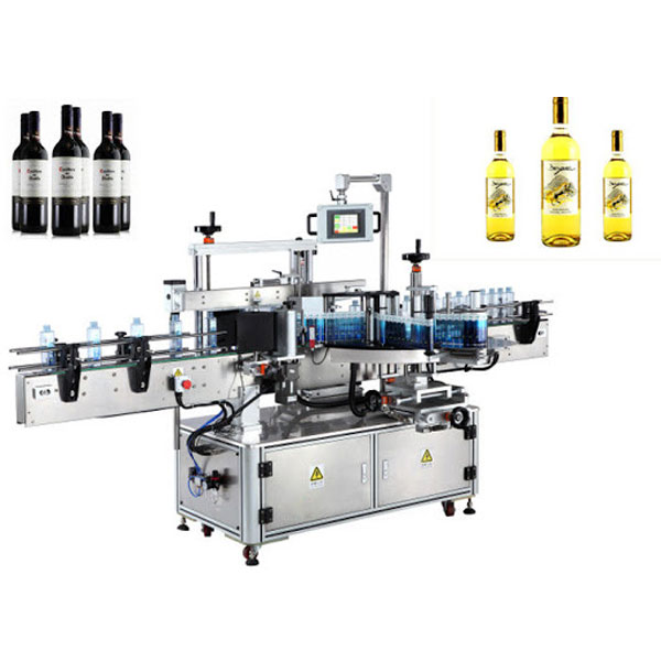 Wine Bottle Label Applicator Machine, Beer Bottle Labeler