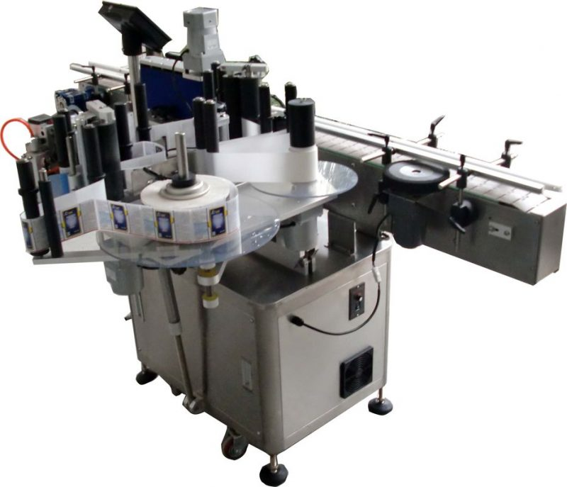 China Omron label stock electric eye automatic labeling machine cosmetics vial labeling supplier