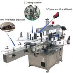 High Speed Servo Motor Self Adhesive Sticker Labeling Machine