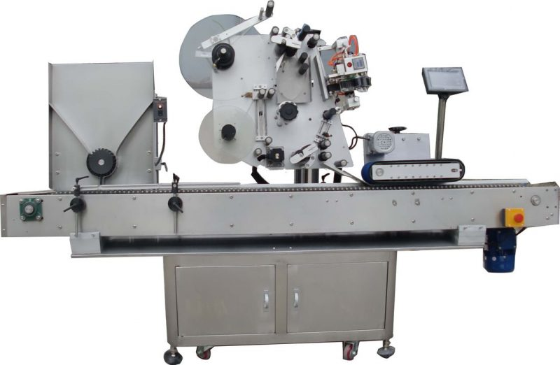 China 10ml Small Liquid Bottle Vial Labeling Machine With SUS304 Stainless Steel supplier