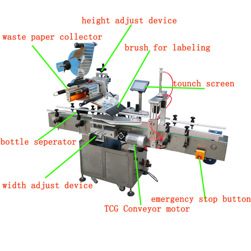 China Siemens PLC Flat Surface Label Applicator For Mask With CE Certificate supplier
