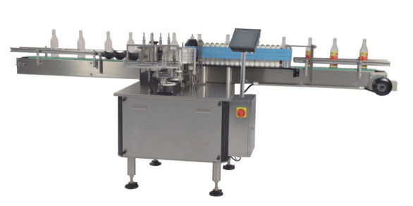 Hot Melt Bopp / Wet Glue Automatic Flat Label Applicator For Bottles