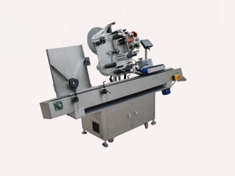 China Made to order pressure sensitive self adhesive sticker vial labeling machine with blood collection supplier