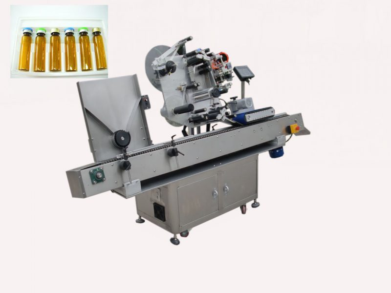 China Economy Automatic milk bottle vial labeling machine for self adhesive sticker 220V 2kw 50/60HZ supplier