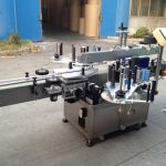 Pressurized Bottle Automatic Sticker Applicator , 550kg Auto Labeling Machine
