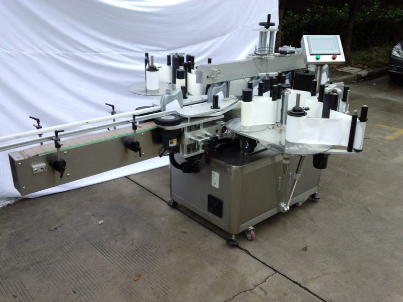 China Customized Automatic Labelling Machine / Labeling Equipment For Self Adhesive Sticker supplier