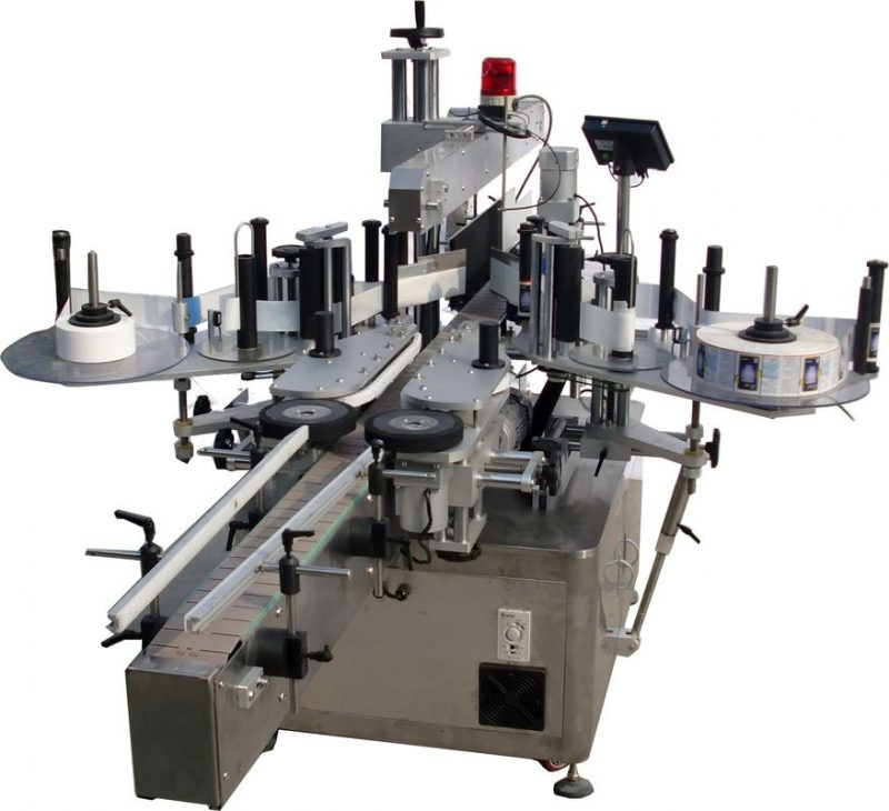 China Flat Surface Automatic Labeling Machine For Bags Factory High Speed 60 - 350 pcs/Min supplier