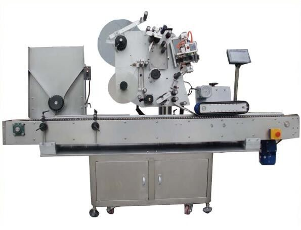 China round opp labeling machine with coding machine ,nail polish label sticker machine for cosmetics supplier