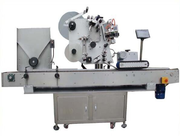 China round opp labeling machine with coding machine ,nail polish label sticker machine for cosmetics supplier