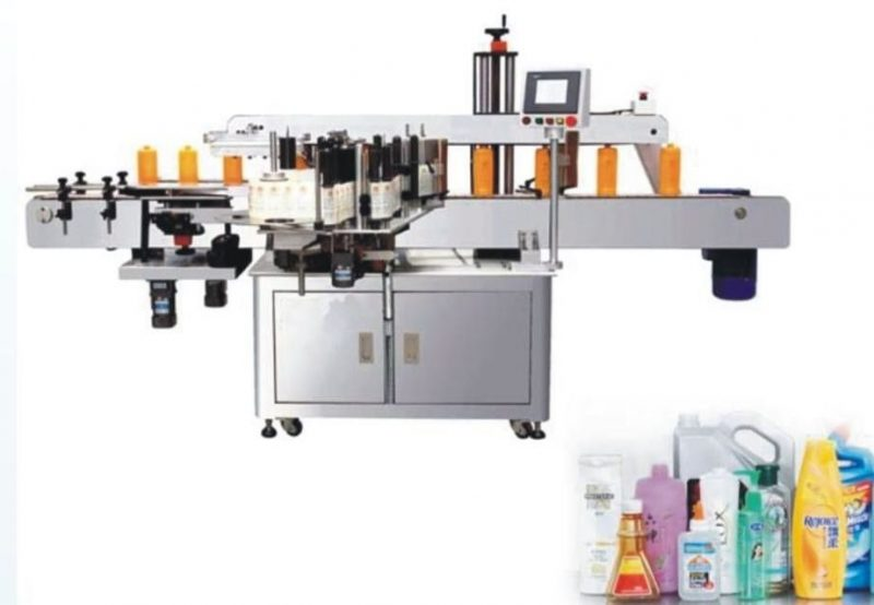 China Double Side Sticker Labelling Machine , SUS304 stainless steel label sticking machine supplier