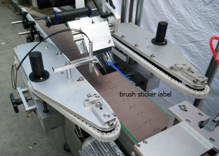Automatic Round Bottle Sticker Labelling Machine For Beer Bottle Spoke Motor