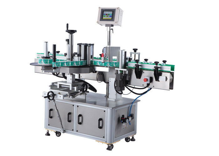 China Round Bottle Sticker Labeling Machine With Beverage / Daily Chemical supplier