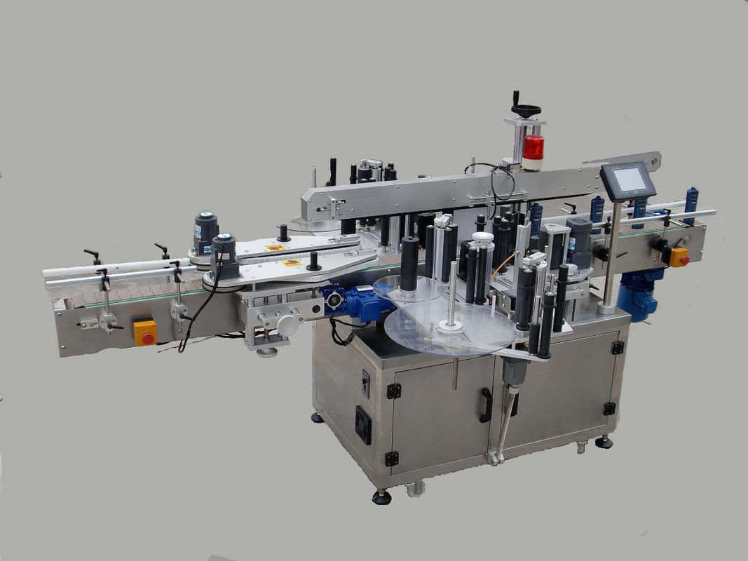 Automatic Double Side Sticker Labeling Machine With Paging Device And Coding Machine