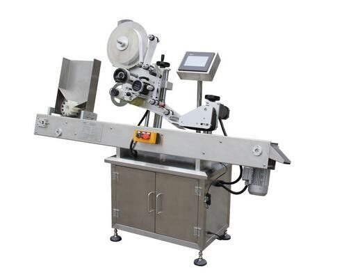 Horizontal Ball-Point Pen Vial Sticker Labeling Machine