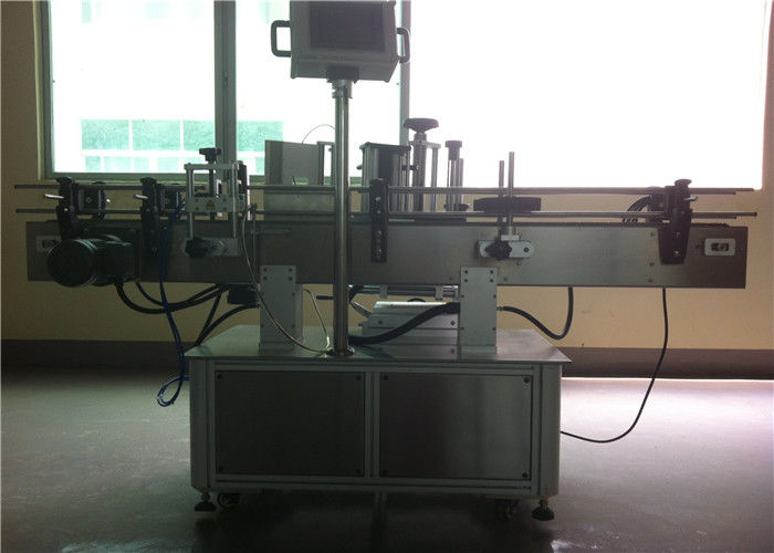 China CE Round Bottle Sticker Labeling Machine For PET Beverage / Drinks Industry supplier