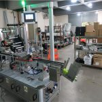 Auto Top Labeling Machine Flat Surface Label Applicator