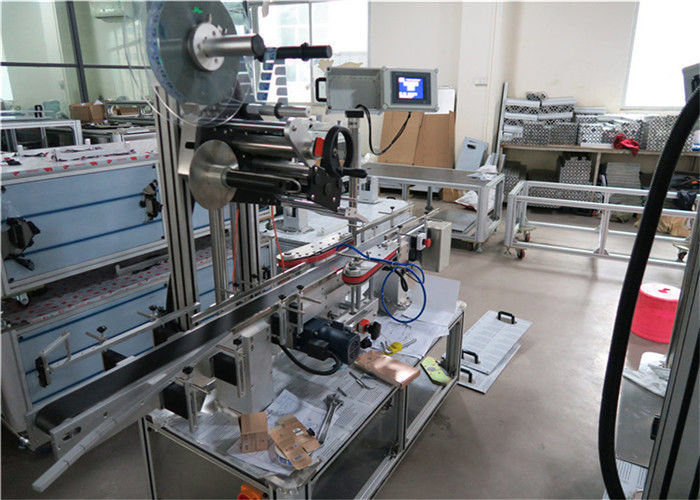High Speed Top Label Applicator Equipment For Flat Surfaces