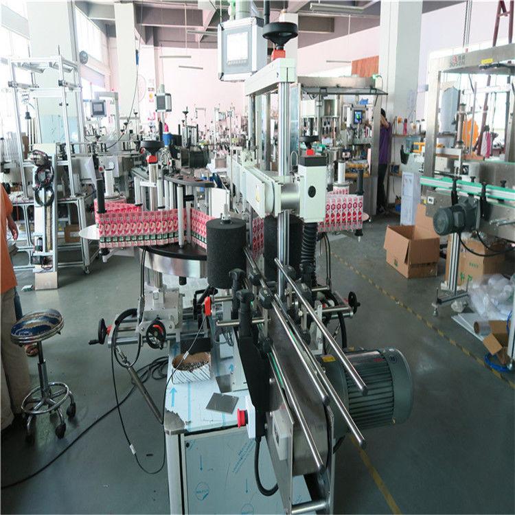 China Shampoo Bottle Automated Labeling Machine Adhesive Sticker Labeler supplier