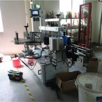 Plastic / Glass Bottle Double Side Labeling Machine, Square Bottle Labeler