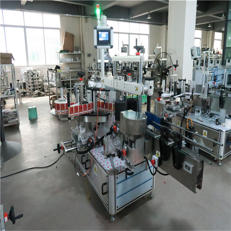 Flat Bottle High Speed Labeling Machine Two Side For Cosmetics / Drinks