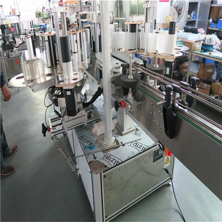 China Plastic Buket Single High Speed Labeling Machine , Two Side Labeling Machine supplier