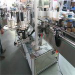 Plastic Bucket Single High Speed Labeling Machine , Two Side Labeling Machine