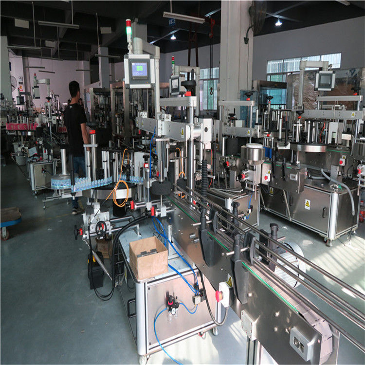 Plastic Bottle Labeling Machine , Drinking Mineral Water Bottle Labeling Machine