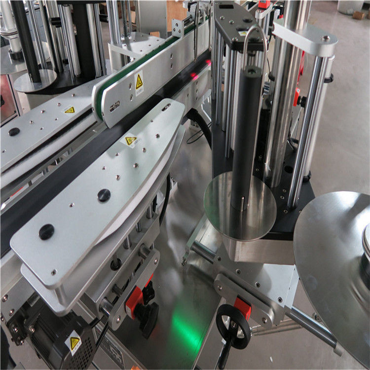 China CE Automatic Sticker Labeling Machine , Front And Back Bottle Labeler Machine supplier