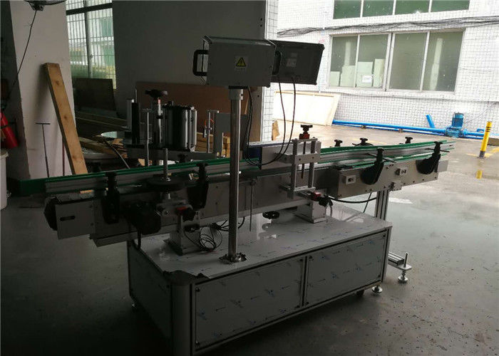 China Bottle Sticker Label Applicator , Adhesive Labeling Machine For Sticker Label supplier