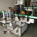 Servo Motor Bottle Labeler Machine For Round / Flat / Square Bottle