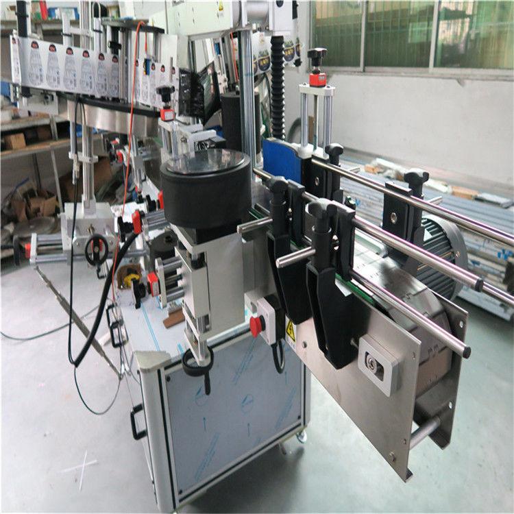 China Oval Bottle Labeling Machine , Sticker Label Applicator Shampoo And Detergent Labeller supplier