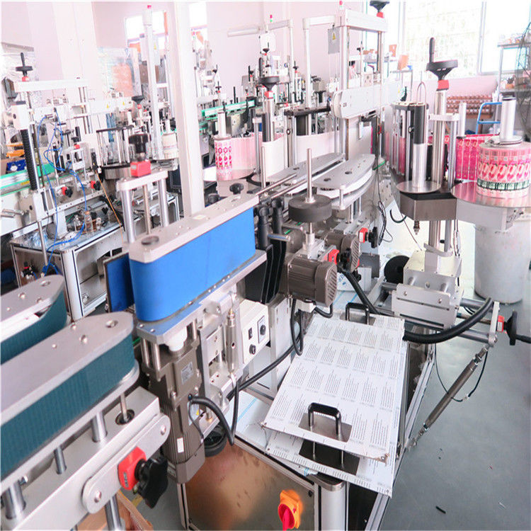 China Bottle Double Side Labeling Machine For Various Flat Square Bottle Jar supplier