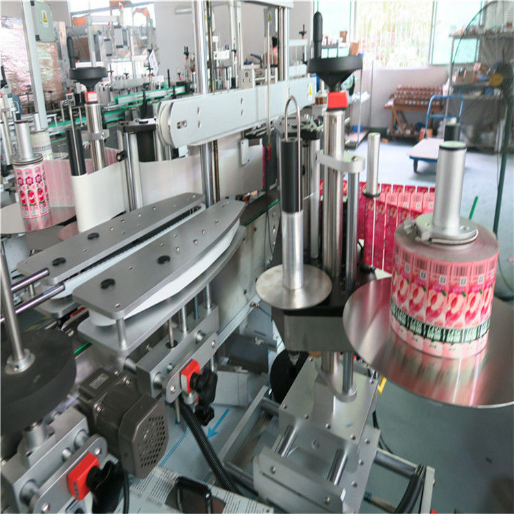 China Front Back Automatic Sticker Labeling Machine Self Adhesive 330mm Max Outer Diameter supplier