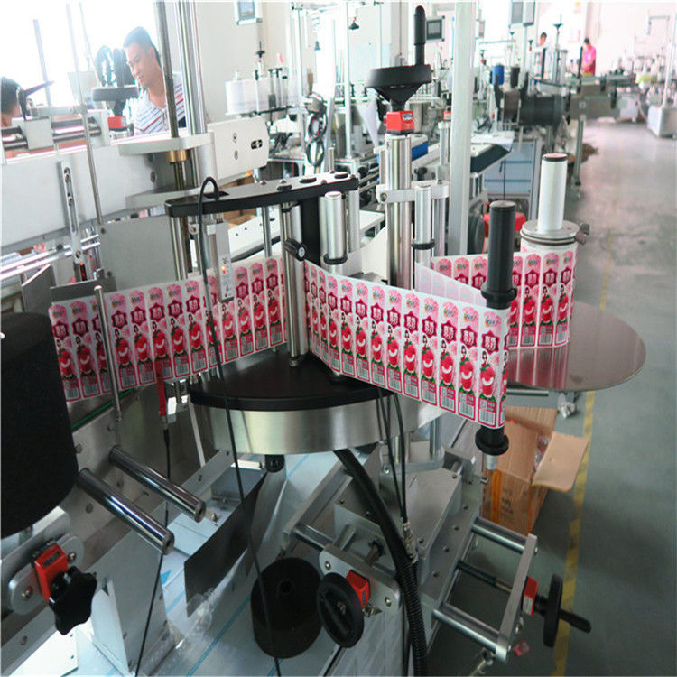 China Multifunctional Transparant Automatic Sticker Labeling Machine 0.1L - 2L Volume Bottle supplier